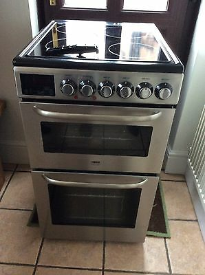 Zanussi Electric Double Oven And Grill