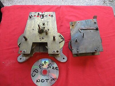 2  VINTAGE  CLOCK  PARTS.  (large)   FREE  DELIVERY