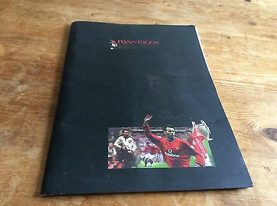 Ryan Giggs Testimonial With Ticket And Extras. 2001.