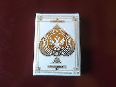Eminence Gold Rare Limited Edition Custom Playing Cards Collectors Deck $$$$