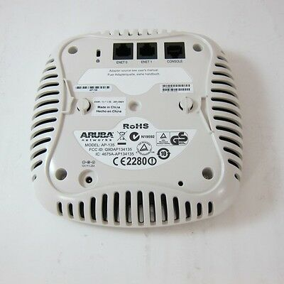 Aruba AP-135 wireless access point 2.4ghz and 5ghz - used