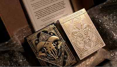 Dominus Rare Limited Edition Custom Playing Cards - Supreme Embossed Luxury !