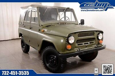 1985 Other Makes UAZ  3151 1985 Soviet (Russian) Army UAZ 3151 (469) Light Utility Vehicle