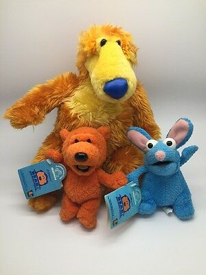 Bear in the Big Blue House  plush / soft toy by NANCO 12 inches Bundle