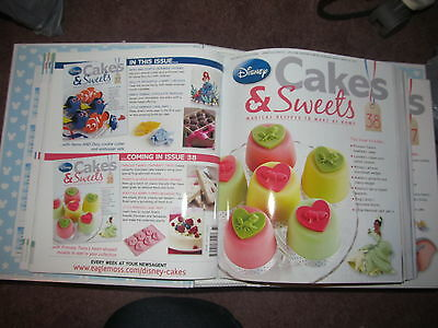 Disney cakes and sweets magazines issues 34 - 48 and accessories UNUSED
