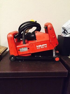 Hilti DC SE19 Wall chaser