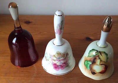 Collection of 3 ornamental bells