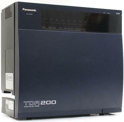 Brand New Panasonic KX-TDA200 Hybrid IP-PBX