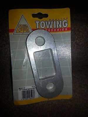 Equip Towing Half Inch Towball Spacer Block - New & Sealed