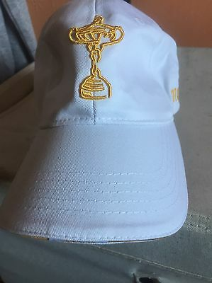 2010 Ryder Cup Baseball Cap, Colour White New