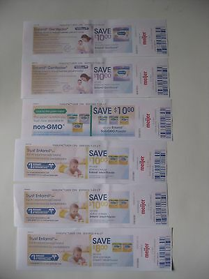$58 in Enfamil formula manufacturer's coupons from Meijer - 6 coupons total