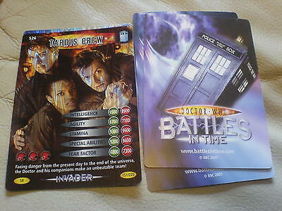 dr who battle in time  cards £1 DALEK v CYBERMEN COLLECTION