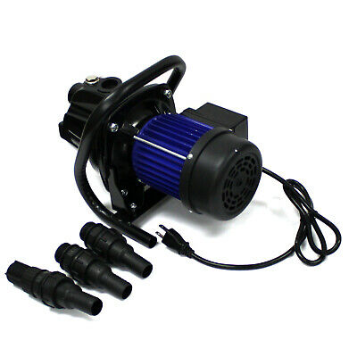 1.5HP Electric Pump Water Jet Garden Shallow Well Pressure 1100W