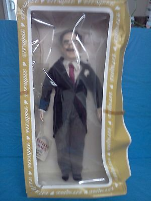GROUCHO MARX PORTRAIT DOLL - EFFANBEE LEGEND SERIES 1983 - NEW In Damaged Box
