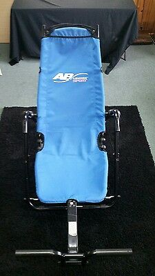 AB Lounge Sport Abdominal Exerciser Workout Equipment Fitness Chair