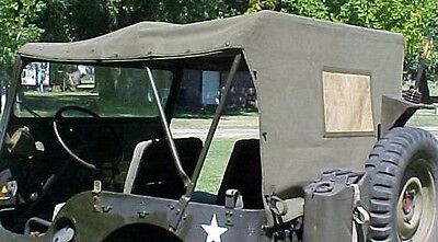 Military Jeep M38 Vehicle Canvas Top 1 DAY HANDLING!!
