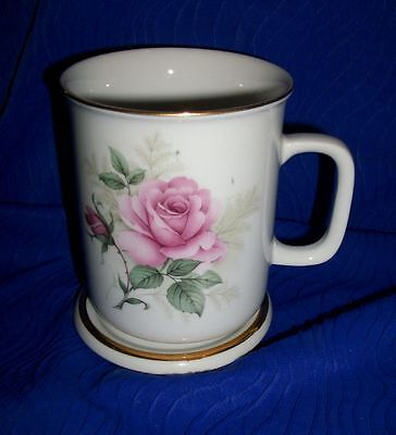 Walter ExcLusive Porcelian China Rose Cup & Coaster Germany- Rare