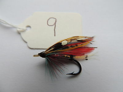 Vintage Size 7 Fully Dressed Gut Eye Salmon Fly. 9 of 10