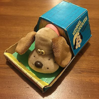 Kennel Kuddlees Soft Toy Vintage Retro Rare Collectable Pound Puppies 80's Dog
