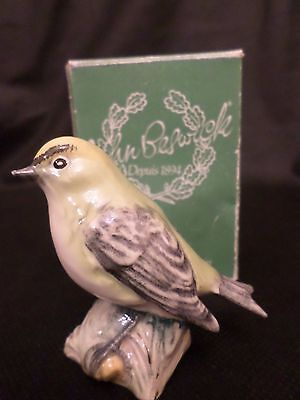 Rare Beswick Figure Of A Goldcrest 2415 (With Box)