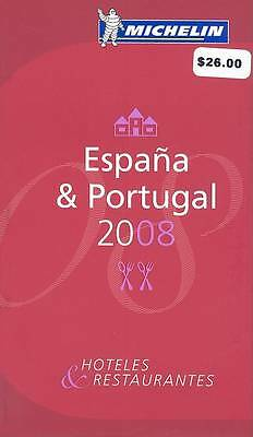 The Michelin Guide Espana Portugal 2008: 2008 by Michelin Travel Publications (…