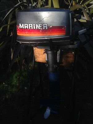 Mariner Yamaha 4hp Two Stroke Longshaft Outboard