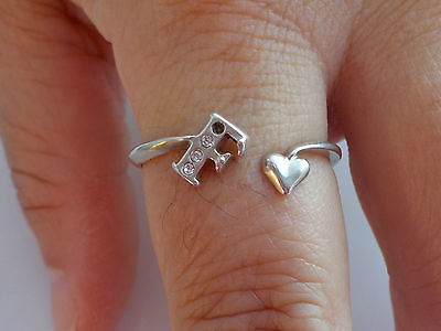Silver Heart And Initial Ring Metal Detecting Find