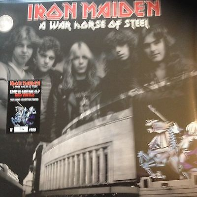Iron Maiden - Rare Limited Edition Numbered Double Vinyl Lp - A War Horse Of