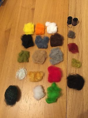 Dubbing Materials For Fly Tying