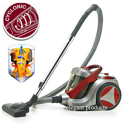 1400W CYCLONIC HOOVER/VACUUM CLEANER LARGE 5L CONTAINER BAGLESS HEPA FILTER a