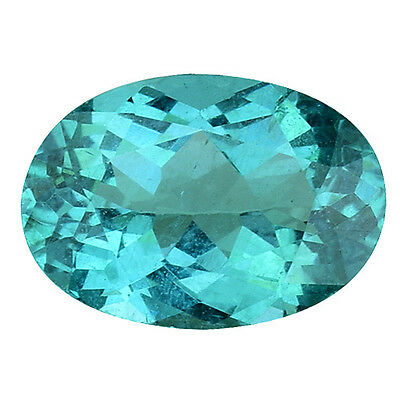 1.035Cts  Charming Lovely! Oval Top Luster Blue Green Natural Apatite Gemstones
