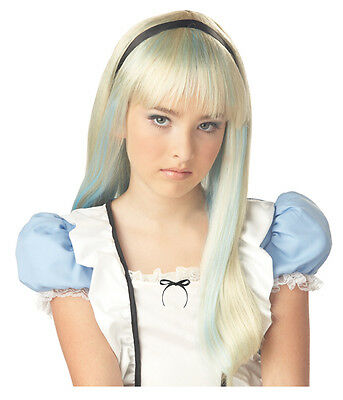 Alice in Wonderland Child Halloween Costume Wig