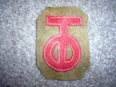WWI US Army patch 90th Division patch AEF
