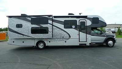 2017 35 foot dynamax super class c diesel dodge cummins rv camper bunkhouse