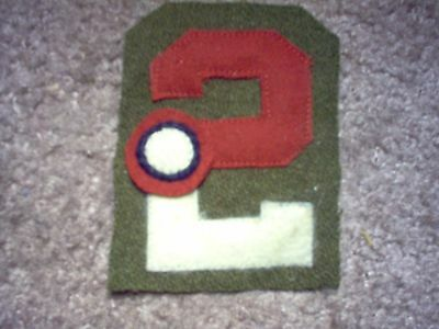 WWI US Army patch Second 2nd Army Aero patch AEF