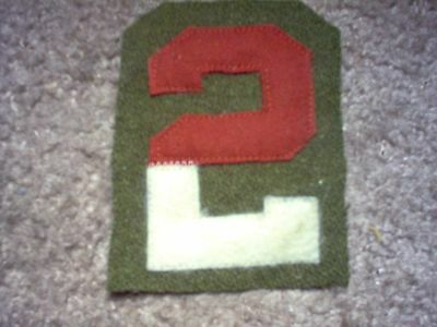 WWI US Army patch Second 2nd Army patch AEF