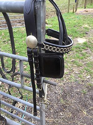 Leather Driving Harness Full Size