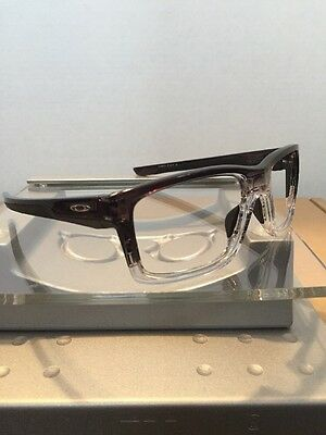 ~~Oakley Mainlink Dark Ink Fade Frame Silver Icons Fast Free S/H~~