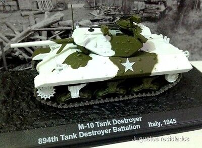 1/72 M-10 Tank Destroyer Italy 1945 Wwii Tank Tanque Altaya