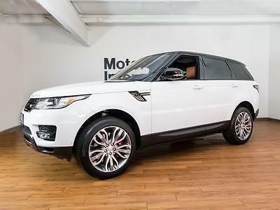 2016 Land Rover Range Rover Sport V8 Supercharged Rare V8 Supercharged with extremely low miles and loaded with options!