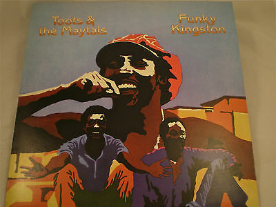 Toots & The Maytals 'funky Kingston' Lp Simply Vinyl Reissue
