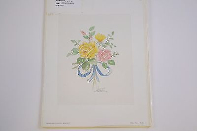 Mary Bertrand - Bows and Country Roses #2 - Limited Edition Signed Print