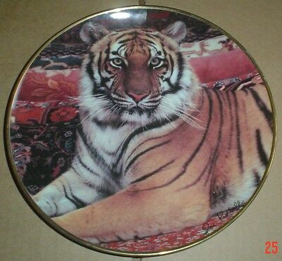 Franklin Mint Collectors Plate THE IMPERIAL TIGER #2