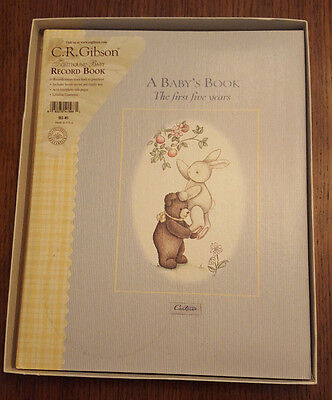 C. R. Gibson Memory Book :A Baby's Book The First Five Years Carters Baby Book