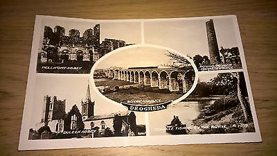 Drogheda - Co Louth - Postcard  - Vintage Ireland Irish 5 Scenes
