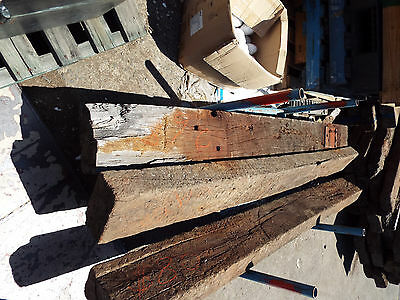 Recycled Redgum railway sleepers  Approx  250x120x 2.7mt  $50 - $90 each