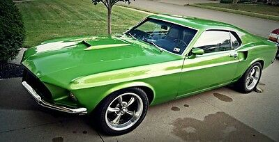 1969 Ford Mustang Mach 1 1969 Ford Mustang Mach 1
