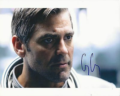 GEORGE CLOONEY Hand Signed 8x10 Autographed Photo With COA - SOLARIS