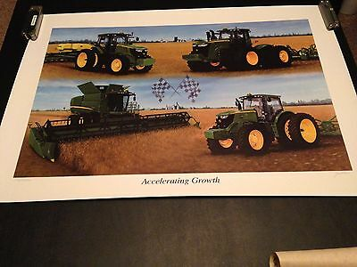 """Limited Edition 2011 John Deere """"Accelerating Growth"""" Print"""