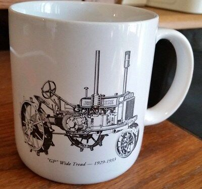 "Go With The Green John Deere Service Coffee Cup - ""GP"" Wide Tread"
